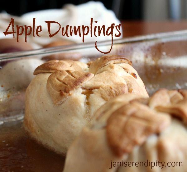 How to make good pie crust recipe apple dumplings
