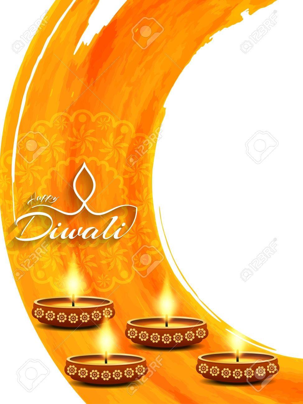 New Diwali Background Designs Vector Free Download Happy