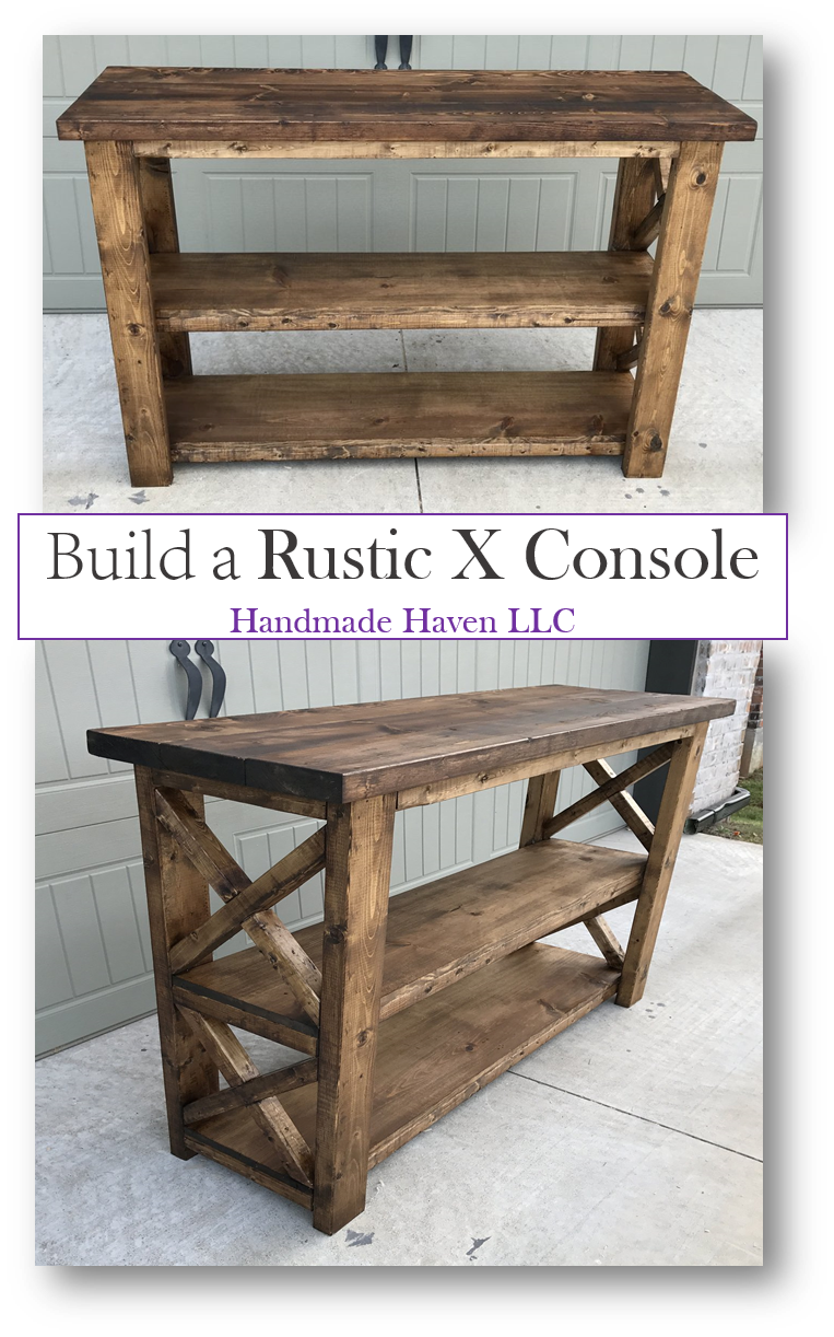 X Console Table In 2020 Diy Furniture