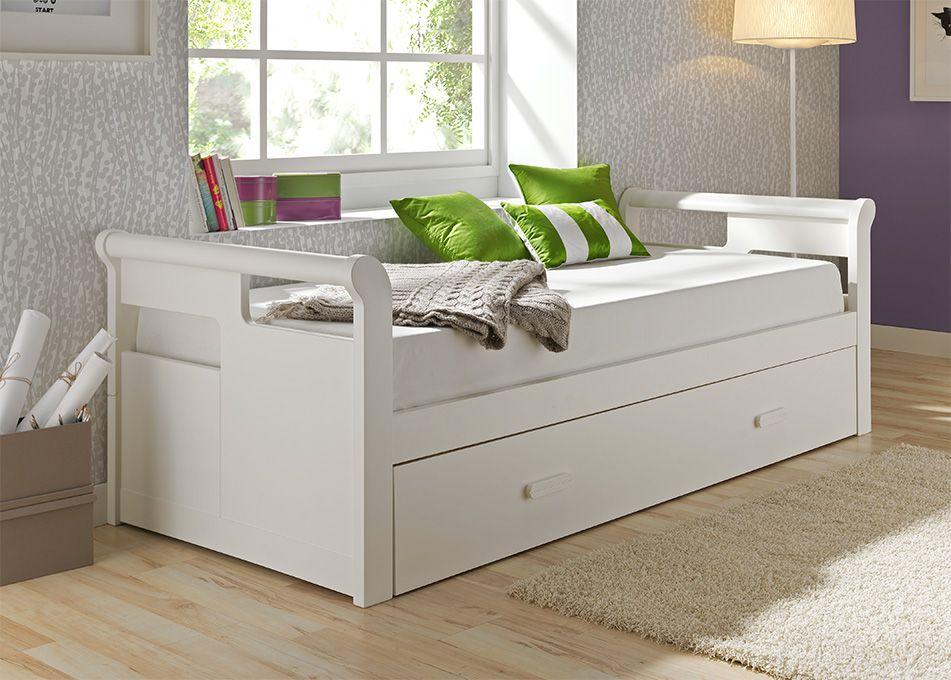 Cama nido gondola blanca lacada mod malaga camas nido for La gondola muebles