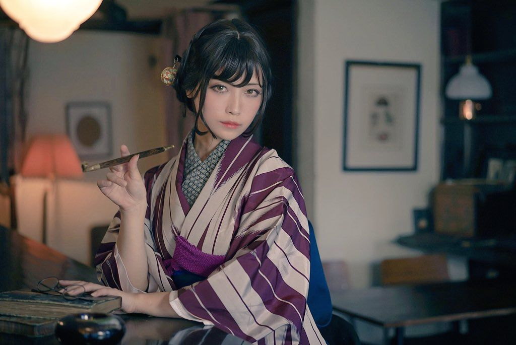 Japanese italian woman, blavk muscular men having oral sex