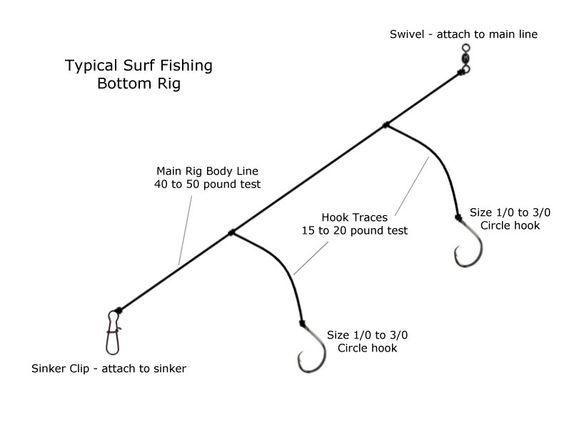 Surf Fishing Bottom Rig | Fishing | Pinterest