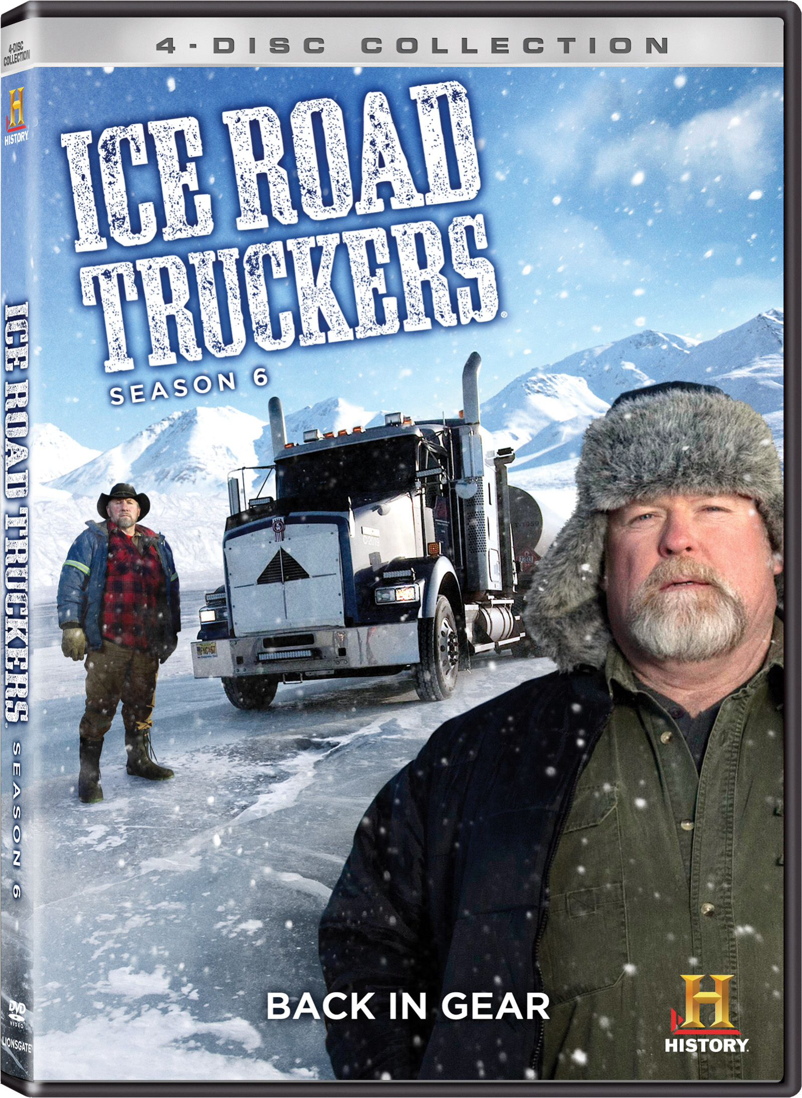 Pin by Steve france on Ice road truckers | Lisa kelly
