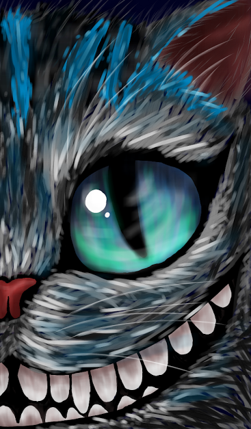 Cheshire Cat Drawing by Rach98 on DeviantArt