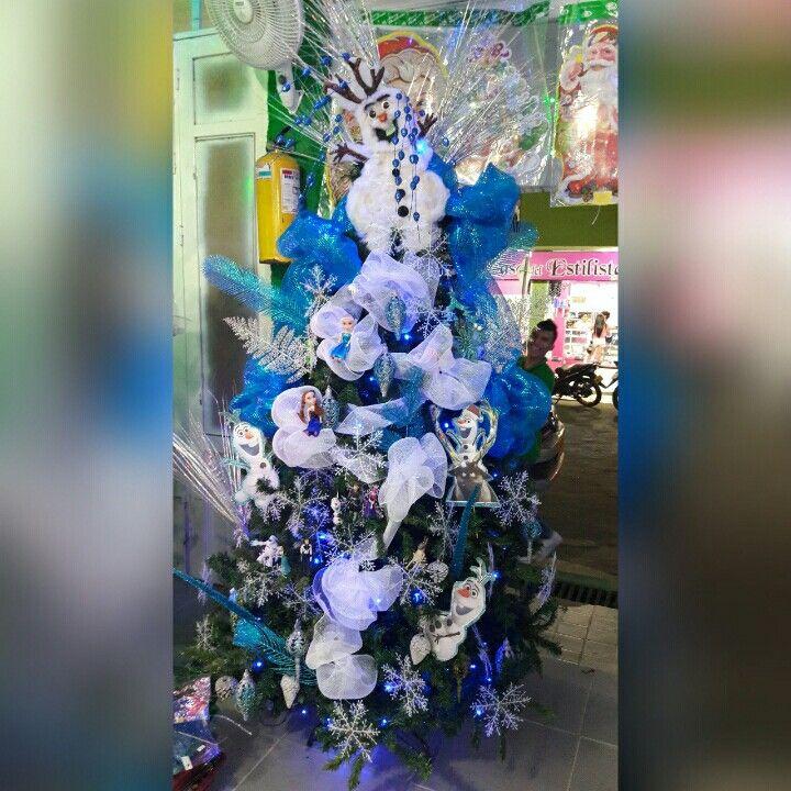 Arbol navideño frozen