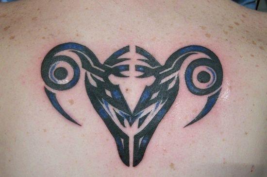 Libra Zodiac Sign Tattoo Designs: Aries Tattoo ~ Cvcaz Tattoo Art Ideas ~ Tattoo Design Inspiration
