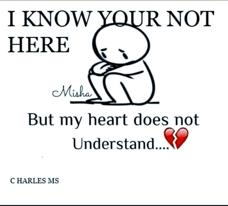 Because a heart knows love, a very important part if us, bc and you can't compromise with something that doesn't understand how too,