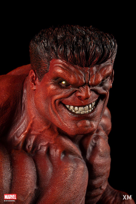 Preorder Xm Studios Red Hulk 1 4 Statue Red Hulk Hulk Statue