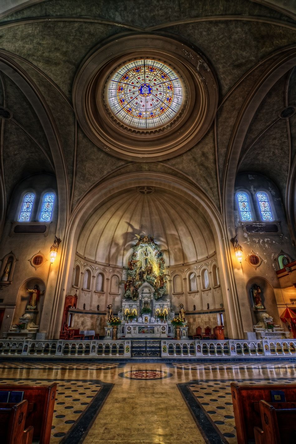 Basilica of National Shrine of Little Flower in San Antonio