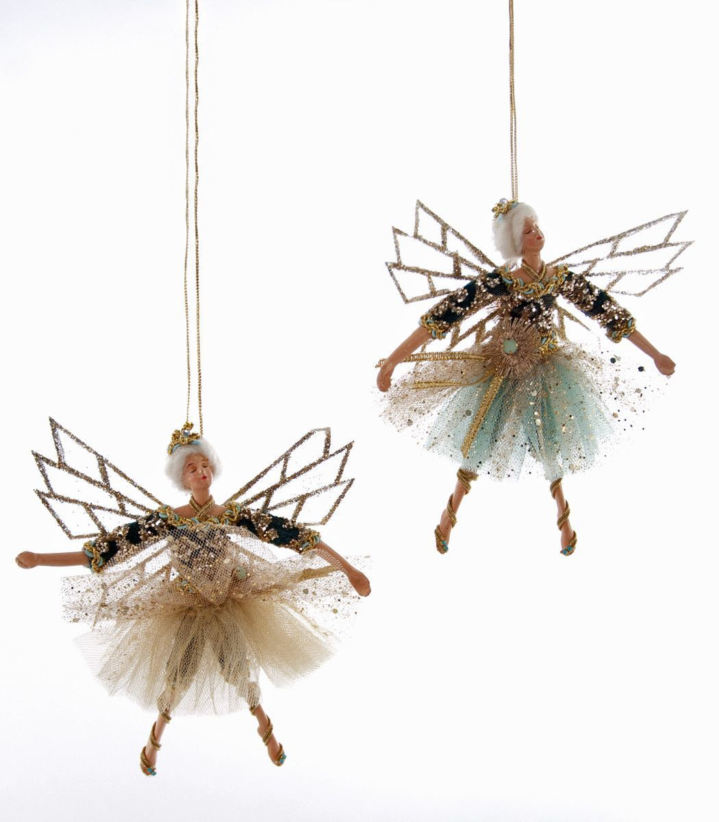 Fairy christmas ornaments - Katherine S Collection Celestial Fantasy Christmas Collection Six Assorted 7 5 Euro Fairy Ornaments Free Ship