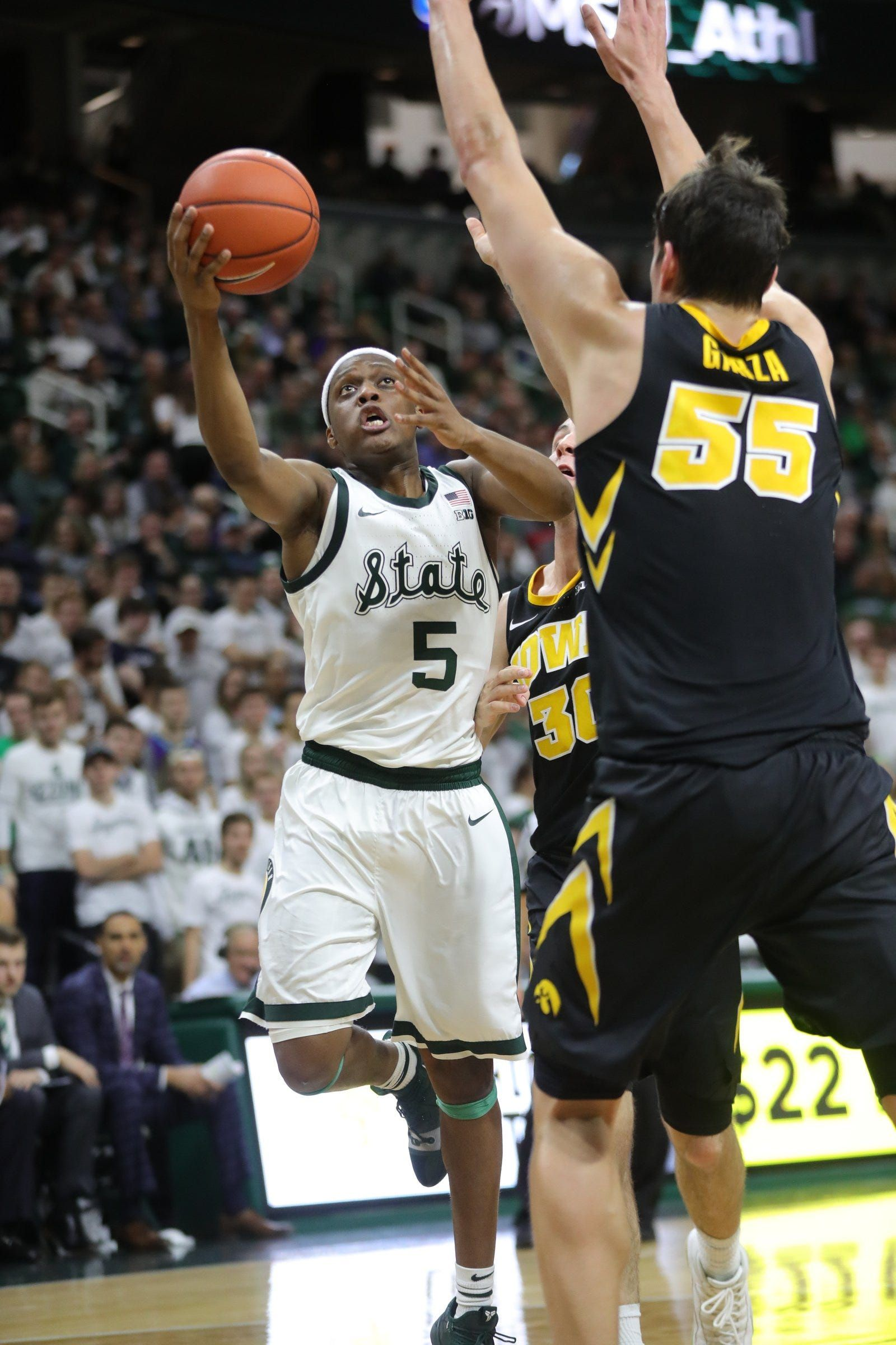 Game recap Michigan State basketball defeats Iowa
