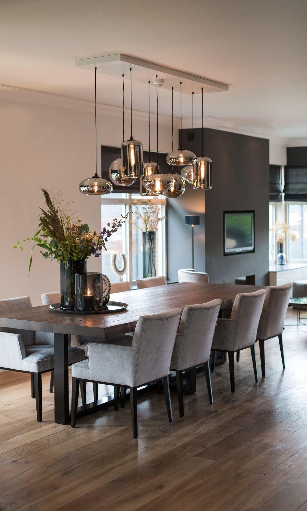 Pin By Aya On Home Design Inspiration Stylish Dining Room Dining Room Decor Modern Dining Room Inspiration