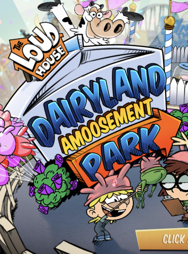 Nickelodeon Infinity Island Game : nickelodeon, infinity, island, House:, Dairyland, Amoosement, Games,, Amusement, Online