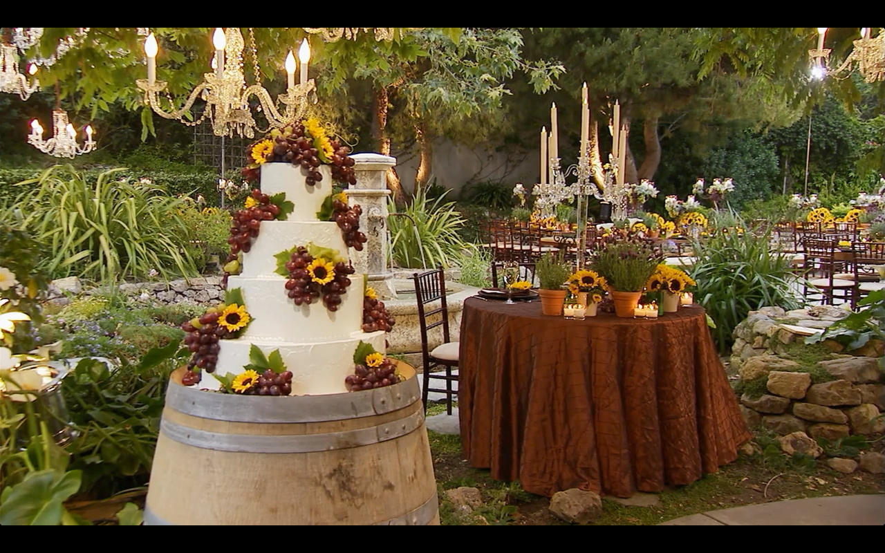 Tuscan Wedding From My Fair Wedding With David Tutera Tuscan