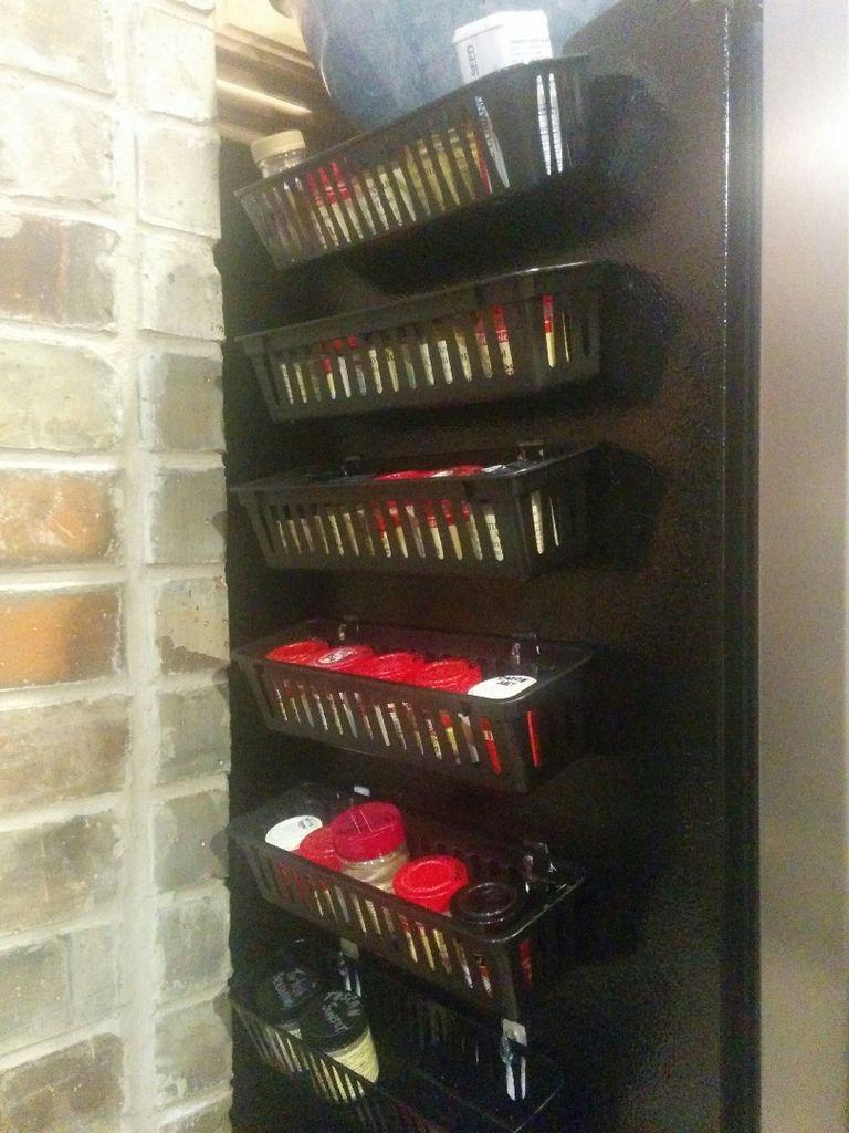 Magnetic Spice Rack for Refrigerator