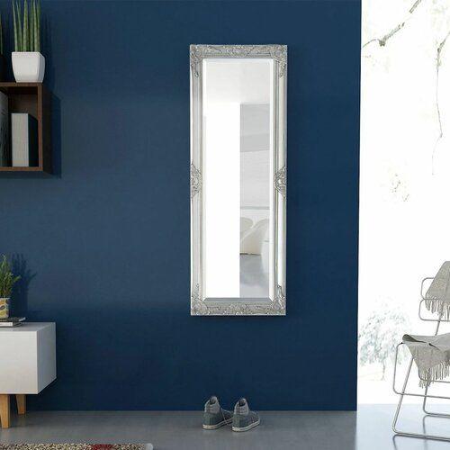 Wandspiegel Blanche Marlow Home Co. Ausführung: Silber, Größe: 120 cm H x 60 cm B
