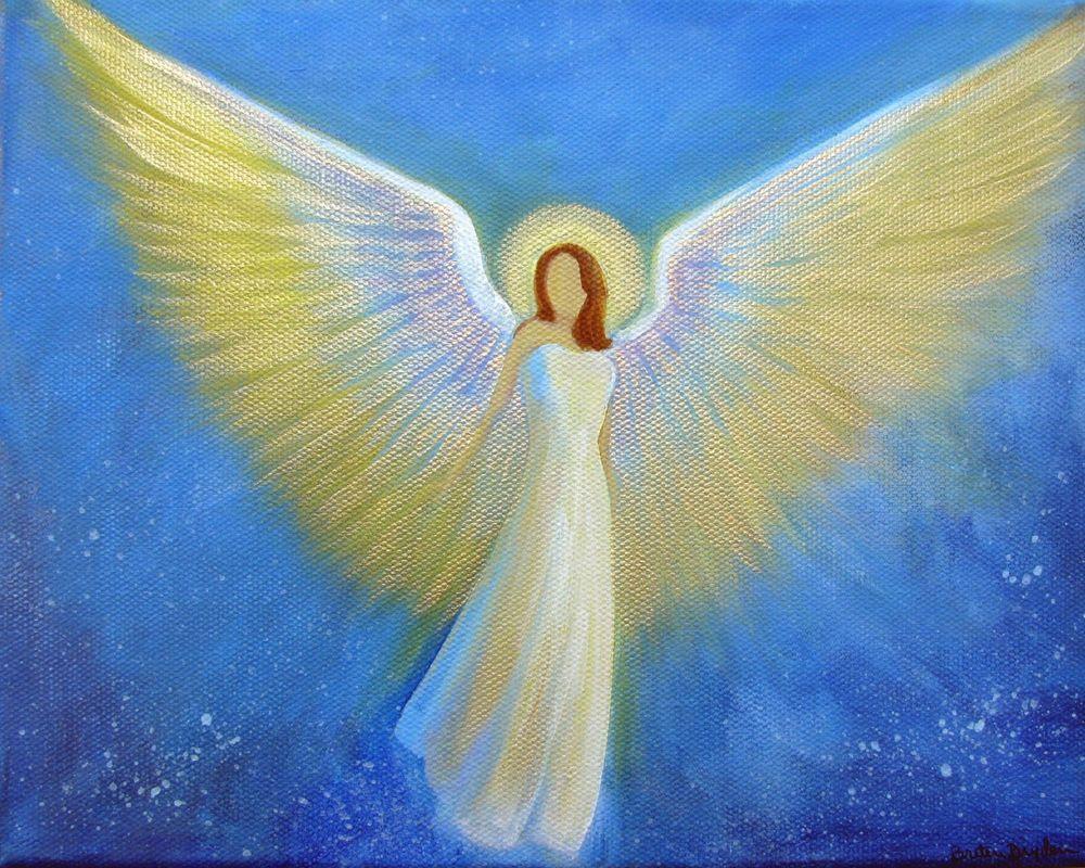 Картинки ангелов над головой