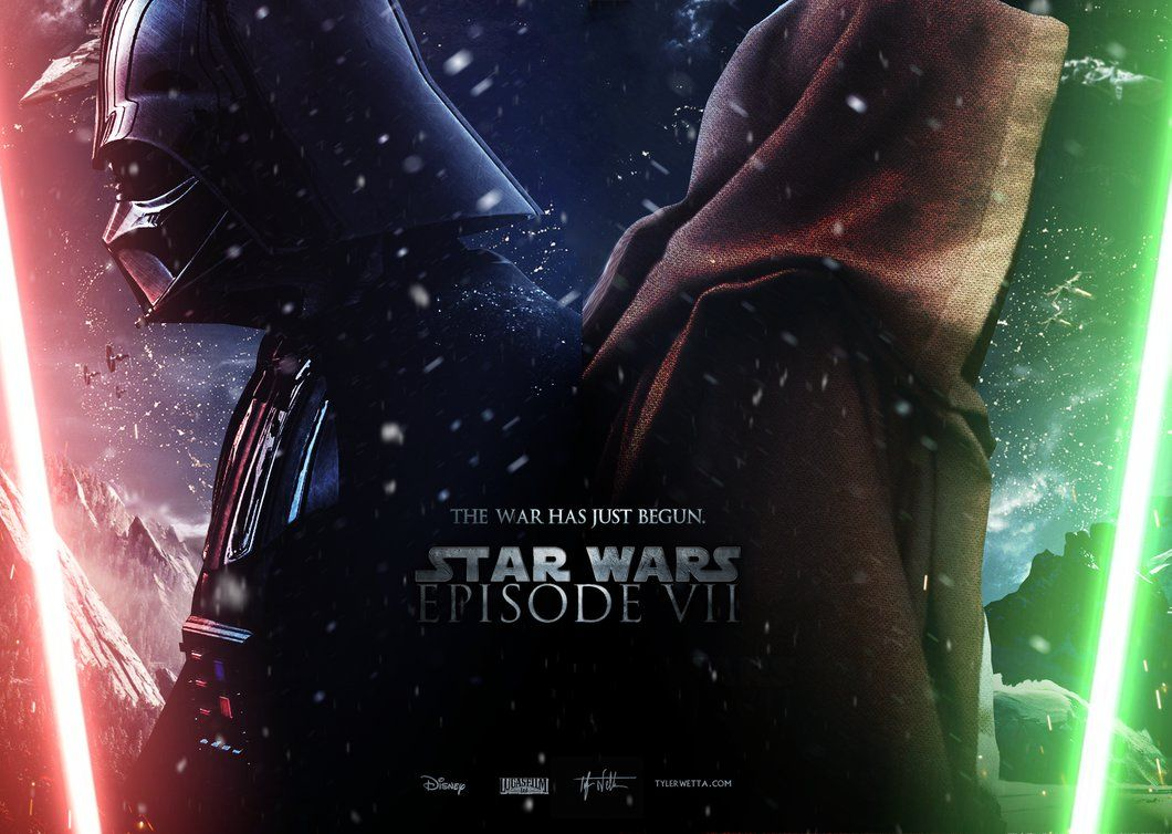 Star Wars Episode Vii Wallpaper By Ancoradesign On