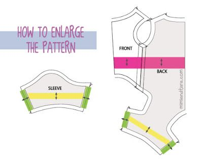 How Enlarge Pattern Dog Items Pinterest Dog Pajamas Dog Beauteous How To Enlarge A Pattern