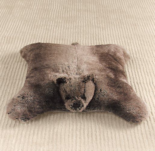 Rh Floor Pillows : Luxe Faux Fur Floor Pillow Big girl room Pinterest Floor pillows, Nursery accessories and ...
