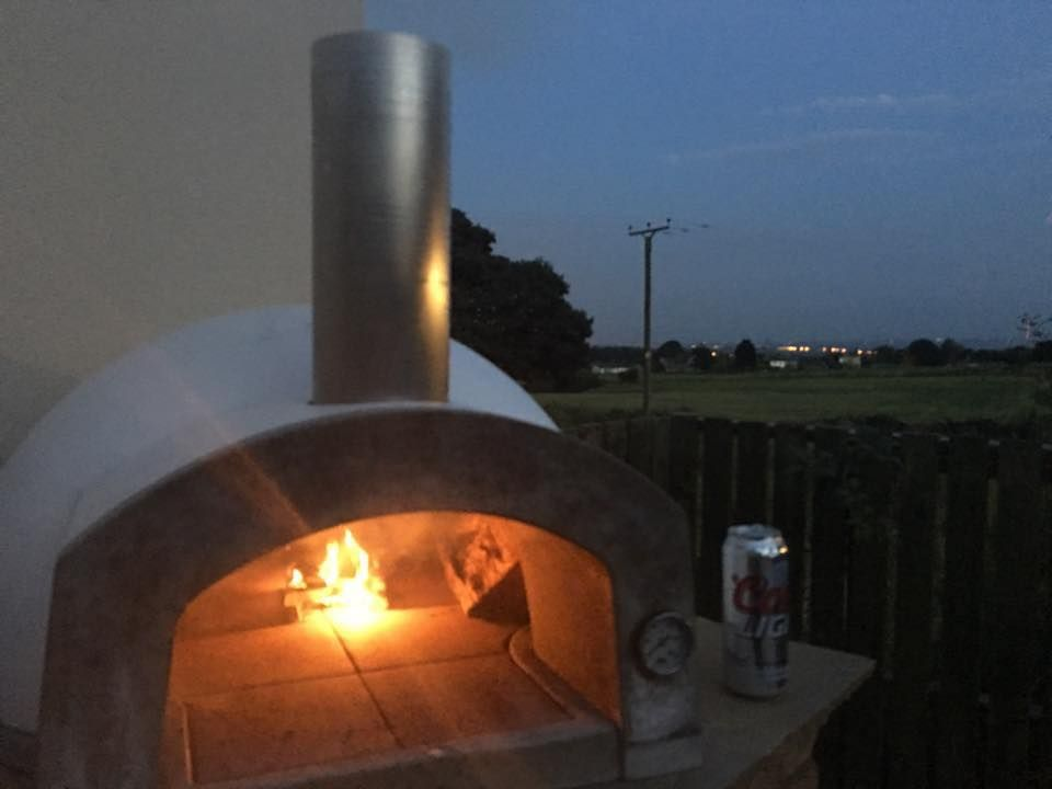Etna 600 Etnaoven Pizzaoven Outdooroven Woodburningoven