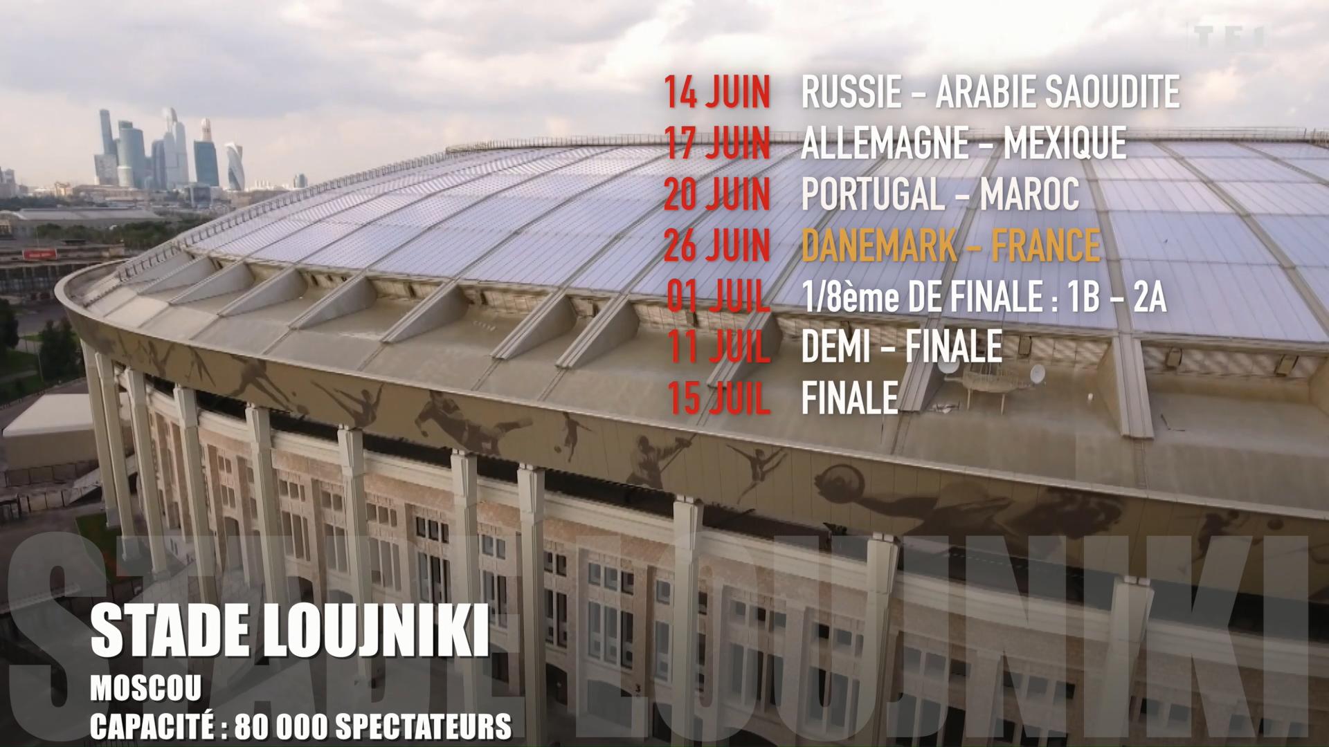 Coupe du monde le calendrier détaillé des