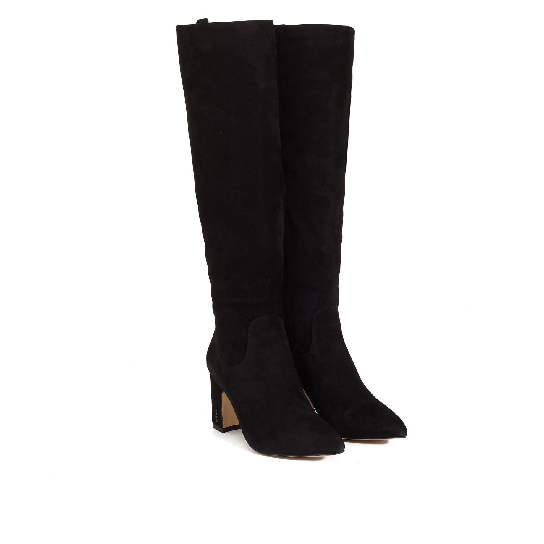 5f44800ade4abf Hai Knee High Boot by Sam Edelman - Black Suede - View 1