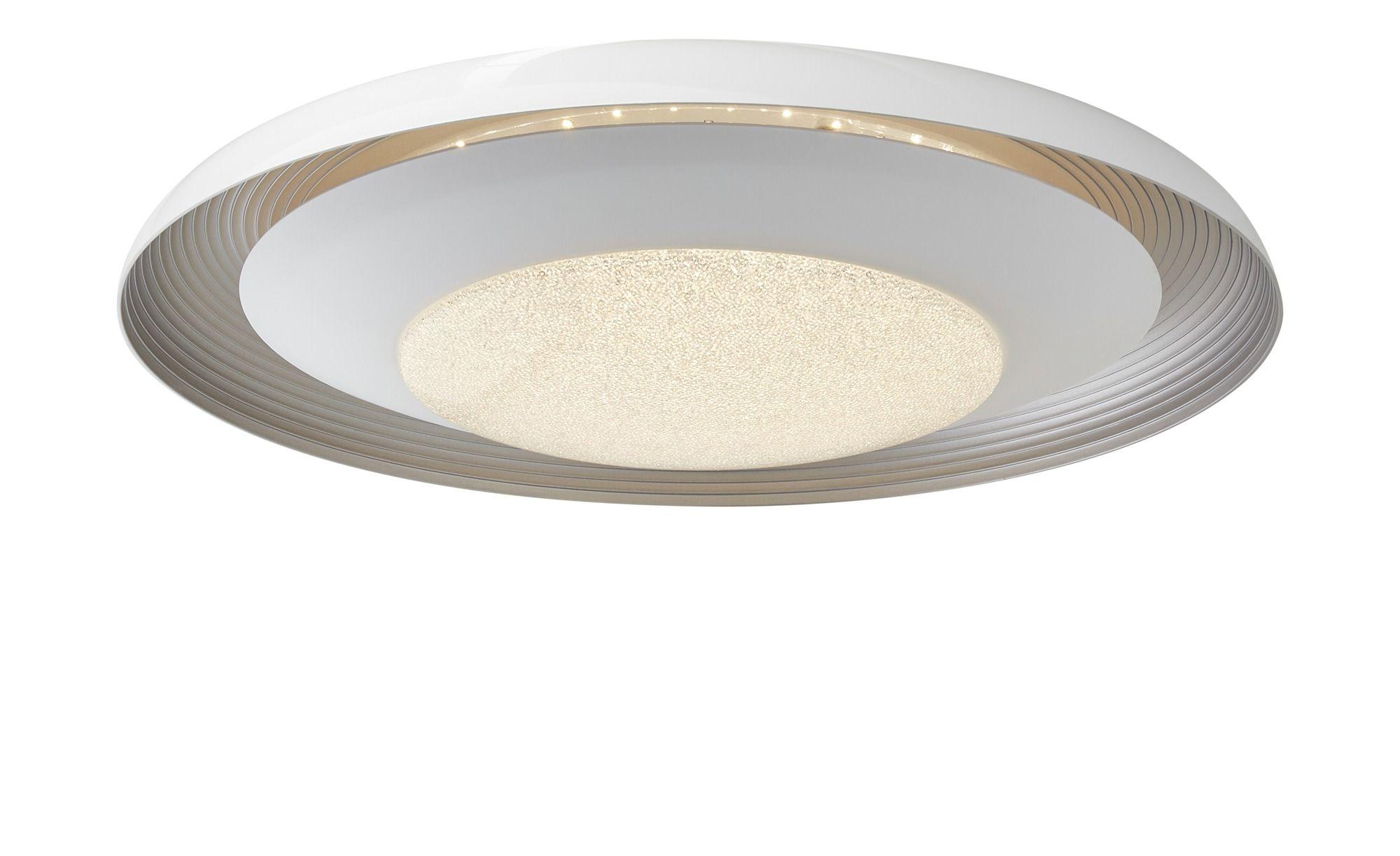 Khg Led Deckenleuchte Mit Kristalloptik Weiss Masse Cm H 10 O 49 5 Lampen Leuchten Deckenleuchten Led Lampe Mit Bewegungsmelder Lampen Und Leuchten