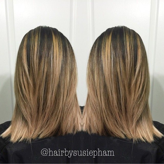 balayage color correction
