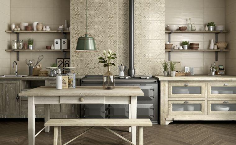 Azulejos cocina y consejos sobre la elección de este elemento tan