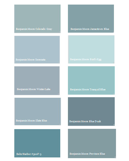 My Favorite Colors For The Kitchen Jamestown Blue Slate Or Colorado Gray Decisions