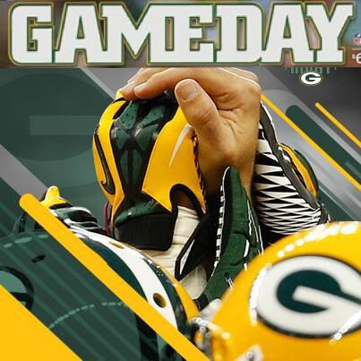 Game Day Let S Beat The Rams Go Pack Go Green Bay Packers Players Green Bay Packers Football Green Bay Packers