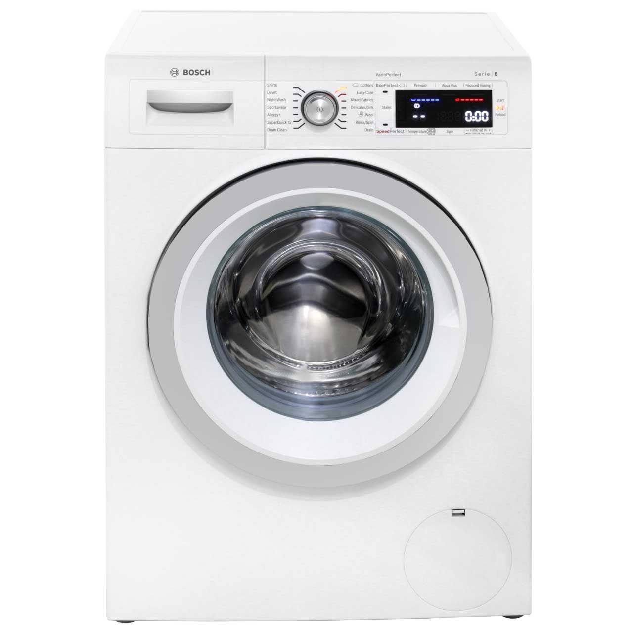 Bosch Serie 8 9kg Washing Machine Waw32560gb Ao Com Washing Machine Bosch Free Standing