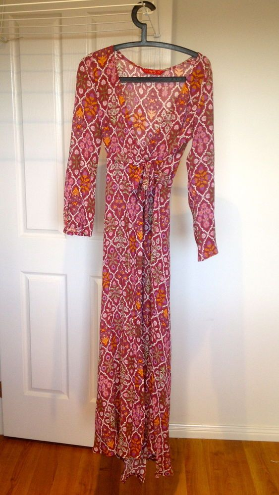 646824993cafe2 Tigerlily Bouquet Floral Maxi Dress Size 8 in Garnet AS NEW | My ...