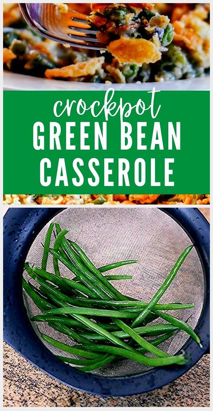 Green Bean Casserole With Bacon , Green Bean Casserole