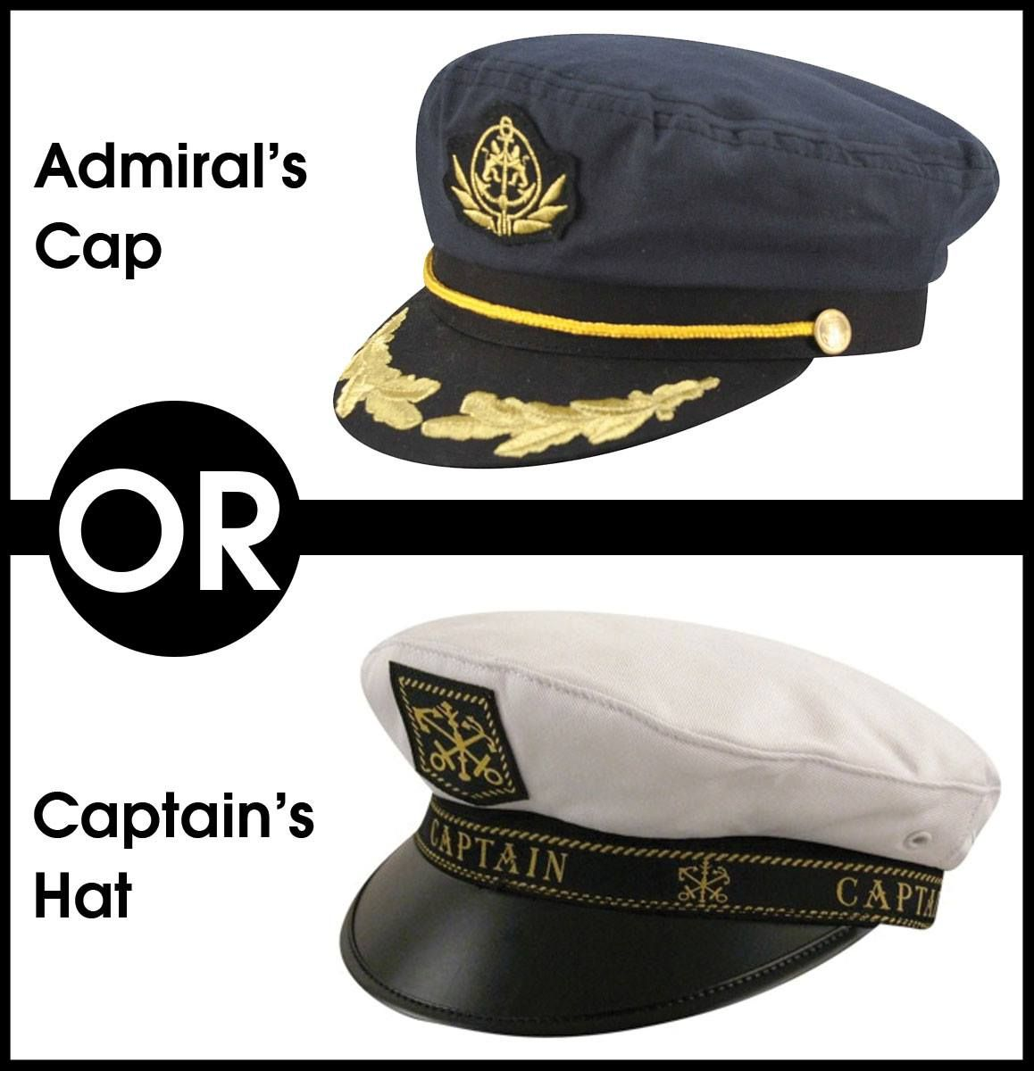 72546b7e58 What s your favorite Fisherman hat look  Admiral s Cap or Captain s hat