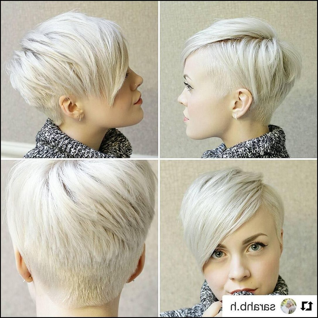 Another Fun Cut On Sarah At Sarahbh At Bishopsbarbershop Pixie