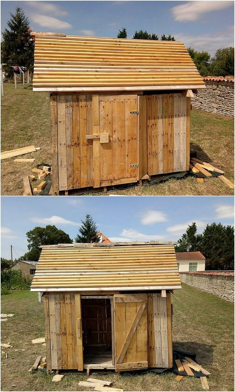 Simple and Creative Ideas for Wood Pallet Recycling (With ...