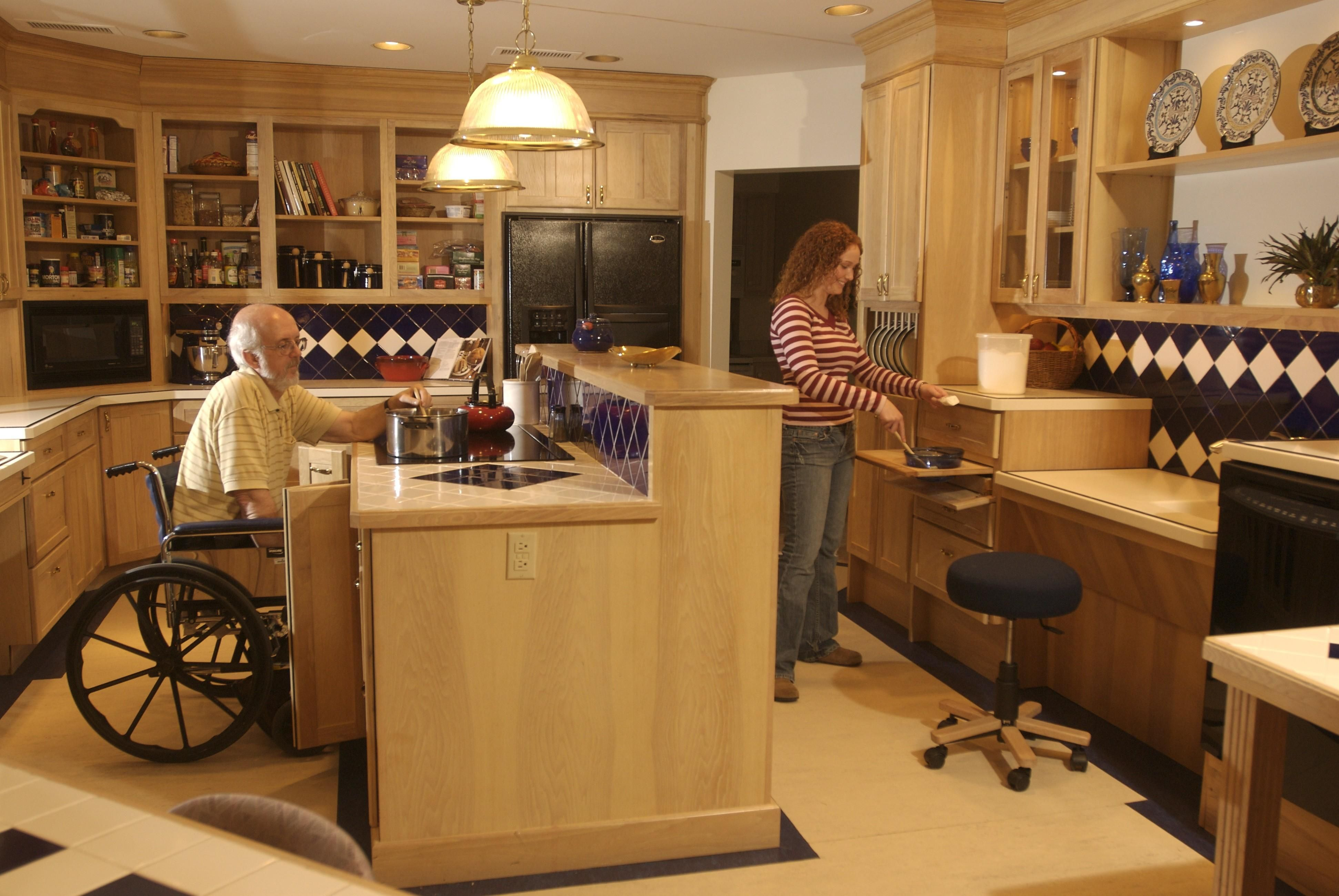 Cool Universal Design Kitchen Cabinets Home New Contemporary Under Interior