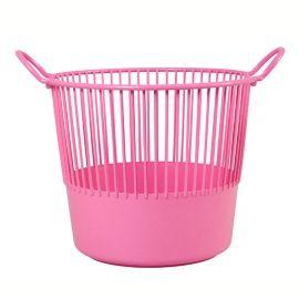 Rice Wäschekorb in Rosa