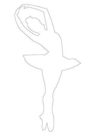 silueta de bailarina para imprimir - Pesquisa Google   neuris ...