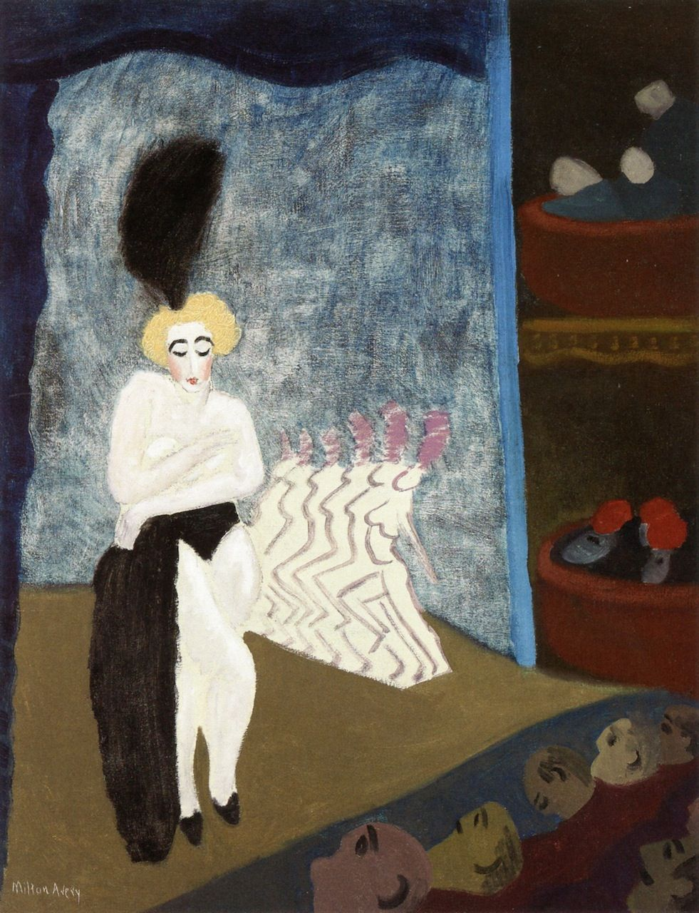 Burlesque Milton Avery - 1936