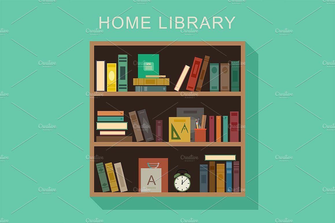 Book Shelf Bookshelves Shelves Home Library