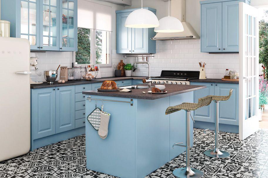 Cocina gales una cocina como las de antes leroy merlin - Precios de cocinas en leroy merlin ...