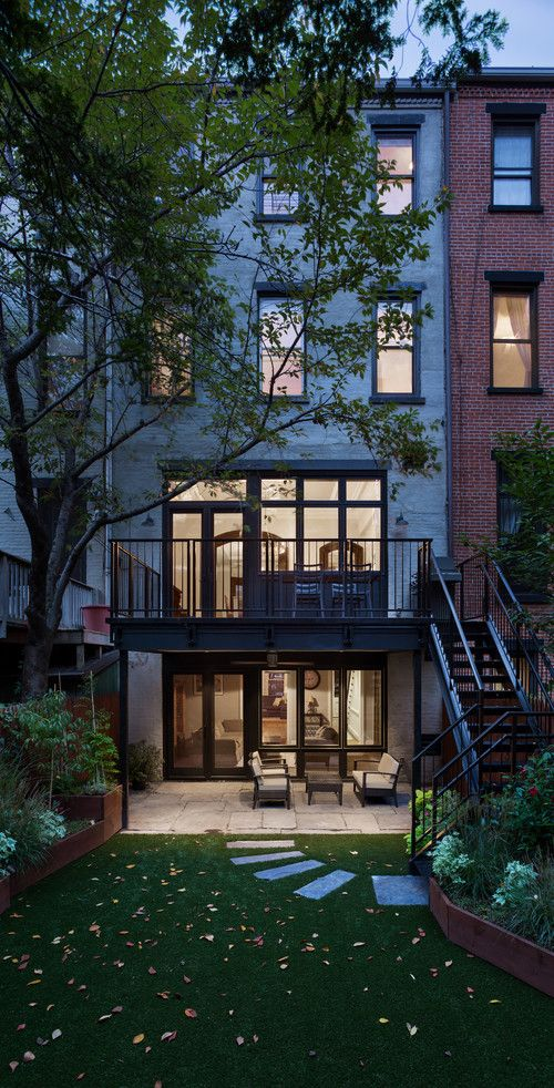 Park Slope Brownstone NYC Michael Schmitt Architect Devon Banks Photo