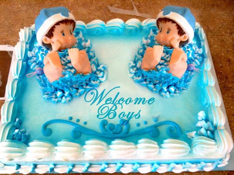12 Baby Shower Cakes For Twins Which Spells Double Fun And Double Happiness Hike N Dip Baby Shower Cakes For Boys Twins Baby Shower Baby Shower Sheet Cakes