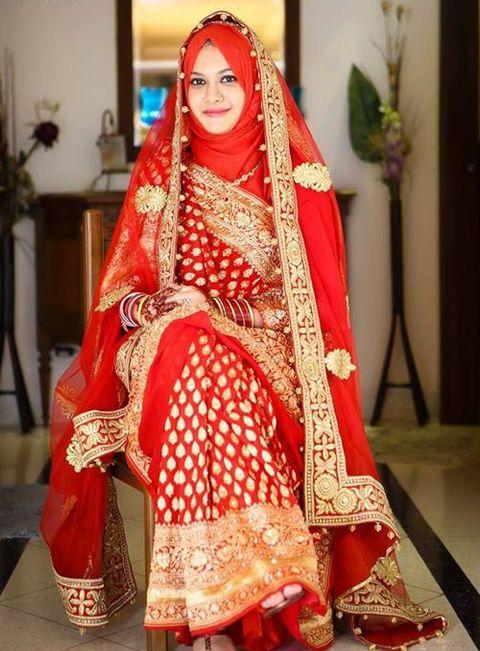 Baju Muslim Sari India Modern Perancang Kain Sari Di 2019 Wanita