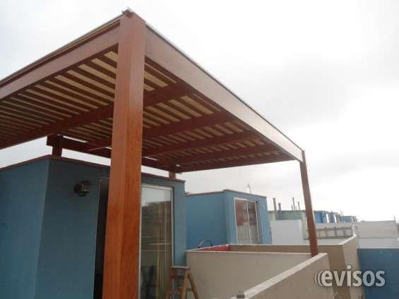 Techos de Madera Barrantes Hacemos todo tipo de techos de madera