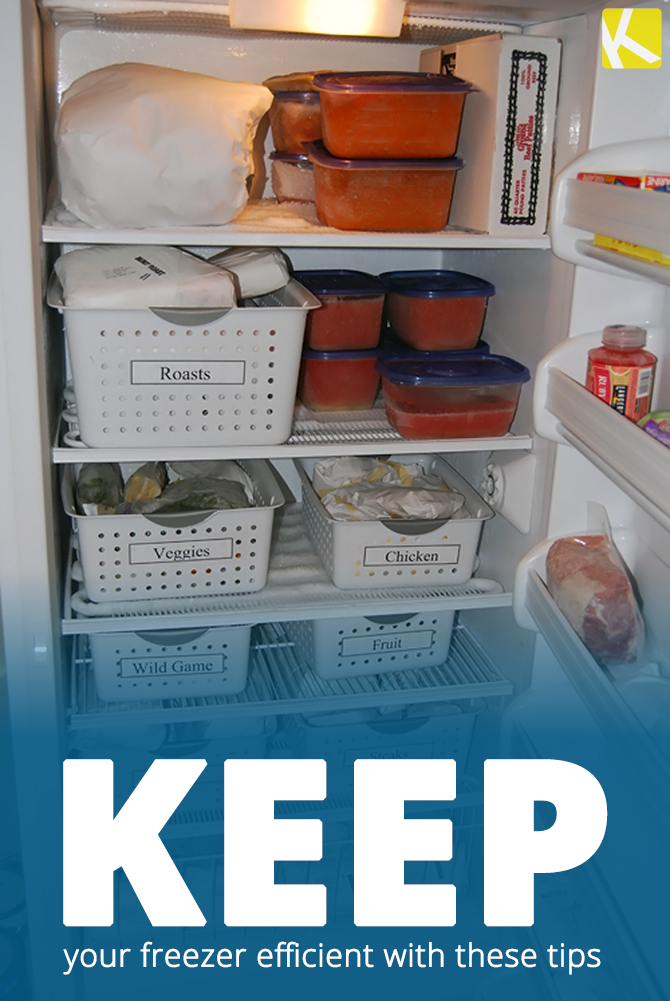 learn to love opening your freezer with these organizing on garage organization ideas that will save you space keeping things simple id=93053