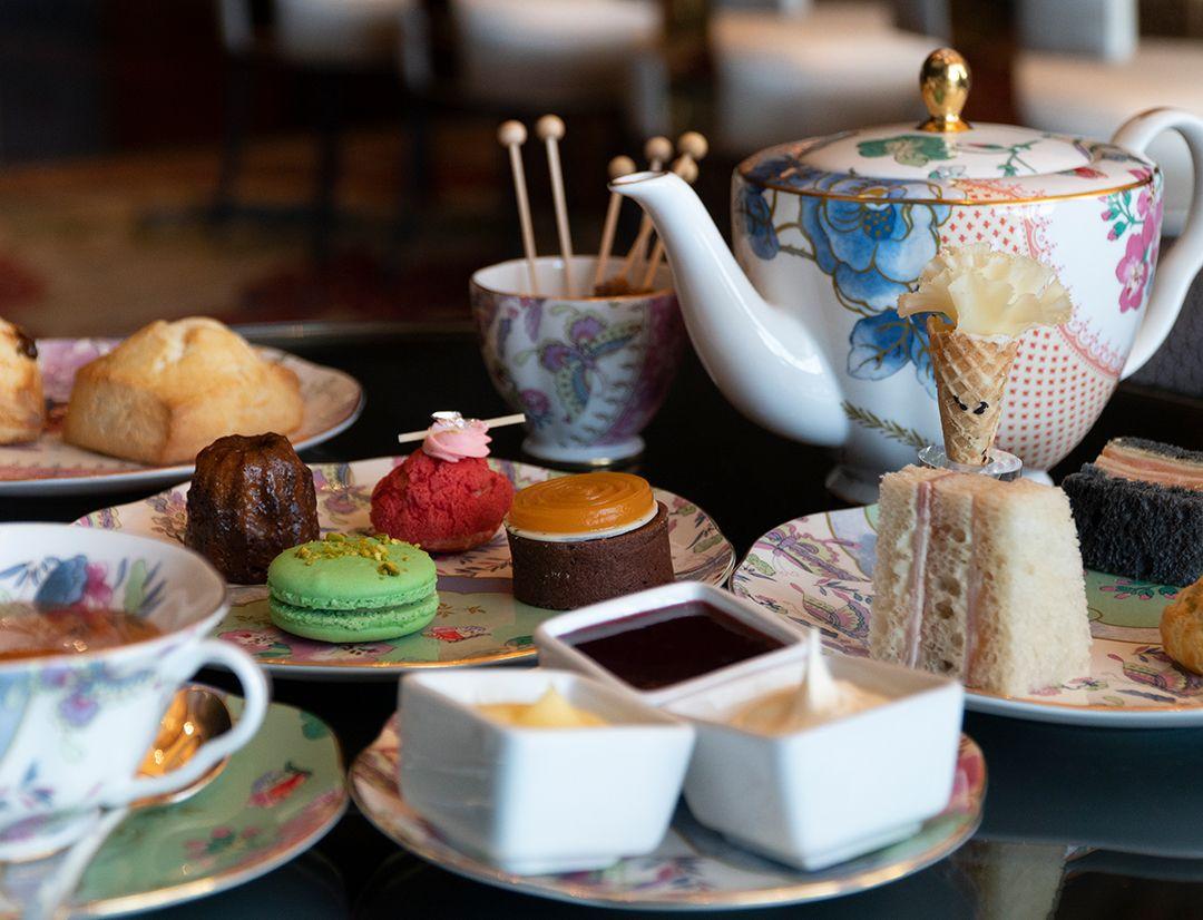 Tea Lounge At Waldorf Astoria Las Vegas With Images Tea Lounge